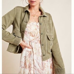 Anthropologie Maisie Utility Jacket